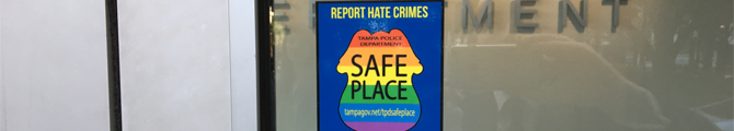 Banner for LGBTQ Hate Crimes Research